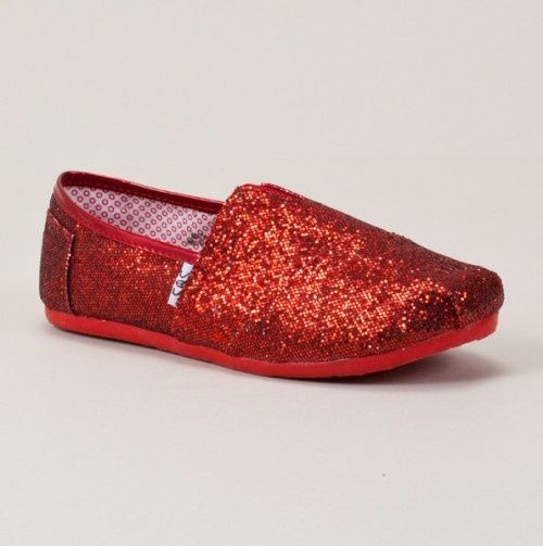 eb59decb867  One for one  AND glitter - win. win. Definitely need to get some of these   redshoes