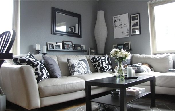 Living Ikea Room Gray Living Room Gray Bright With White Cabinets