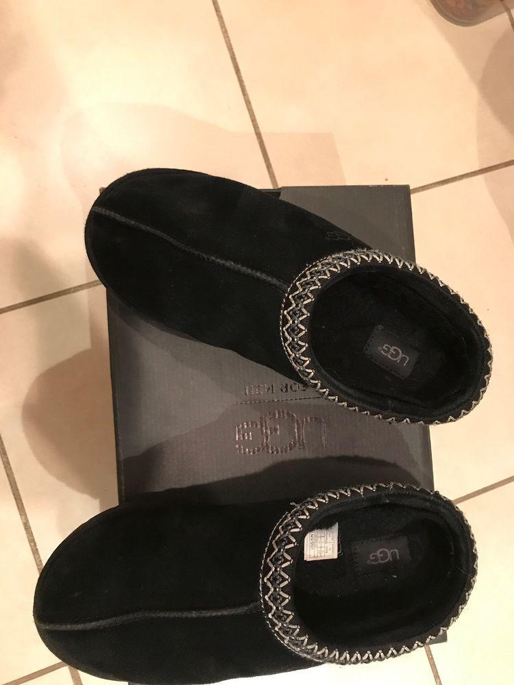 528b3e82ea1 UGG 5950 Tasman Black Slippers Men's Size 10 Brand New #fashion ...