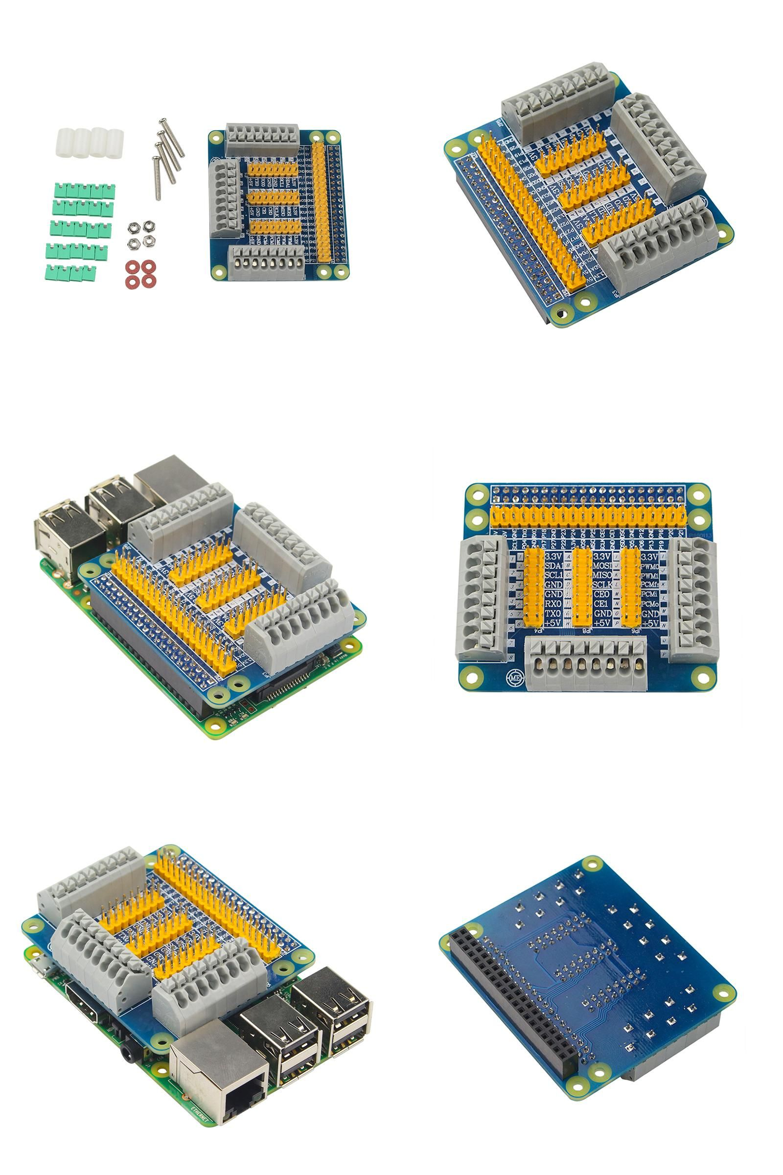 Visit to Buy] Raspberry Pi 3 Model B GPIO Extension Board