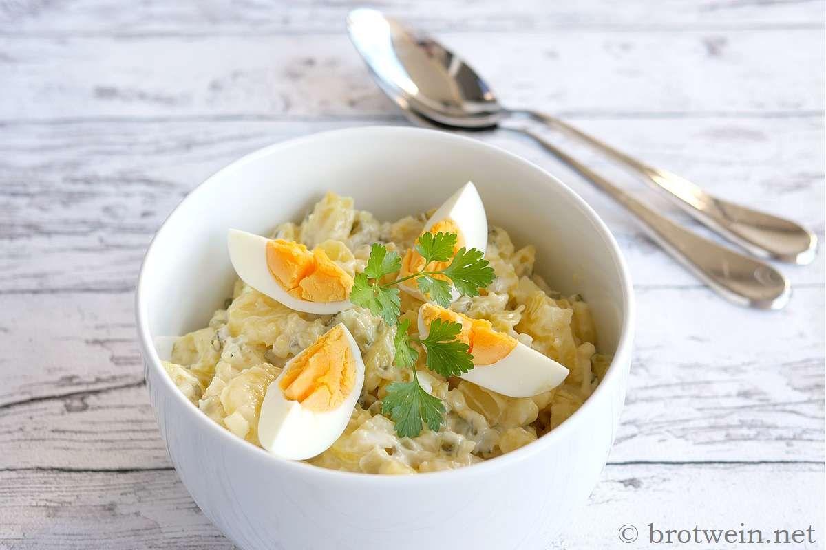 Kartoffelsalat Mit Speck Und Ei