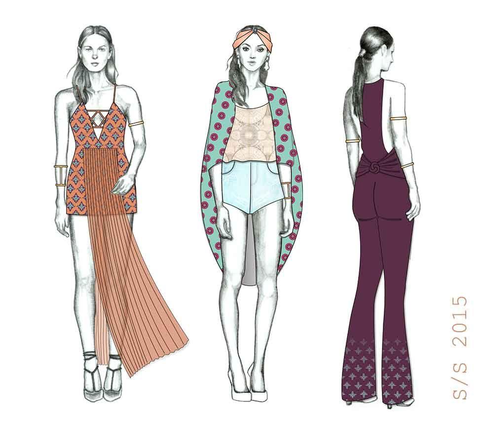 Comissioned | Fashion Forecasting SS 2015 | Collective Thread Magazine - collectivethreadmag.com  © Camila França - Todos os direitos reservados / All rights reserved