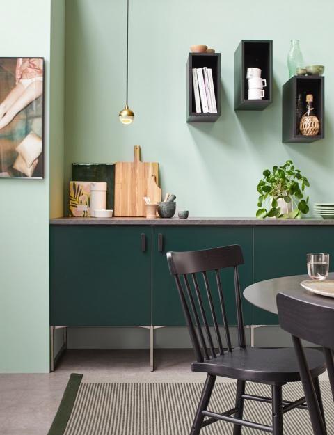 Grün als Trendfarbe in 2019 | Innenraumgestaltung | Cocinas und ...