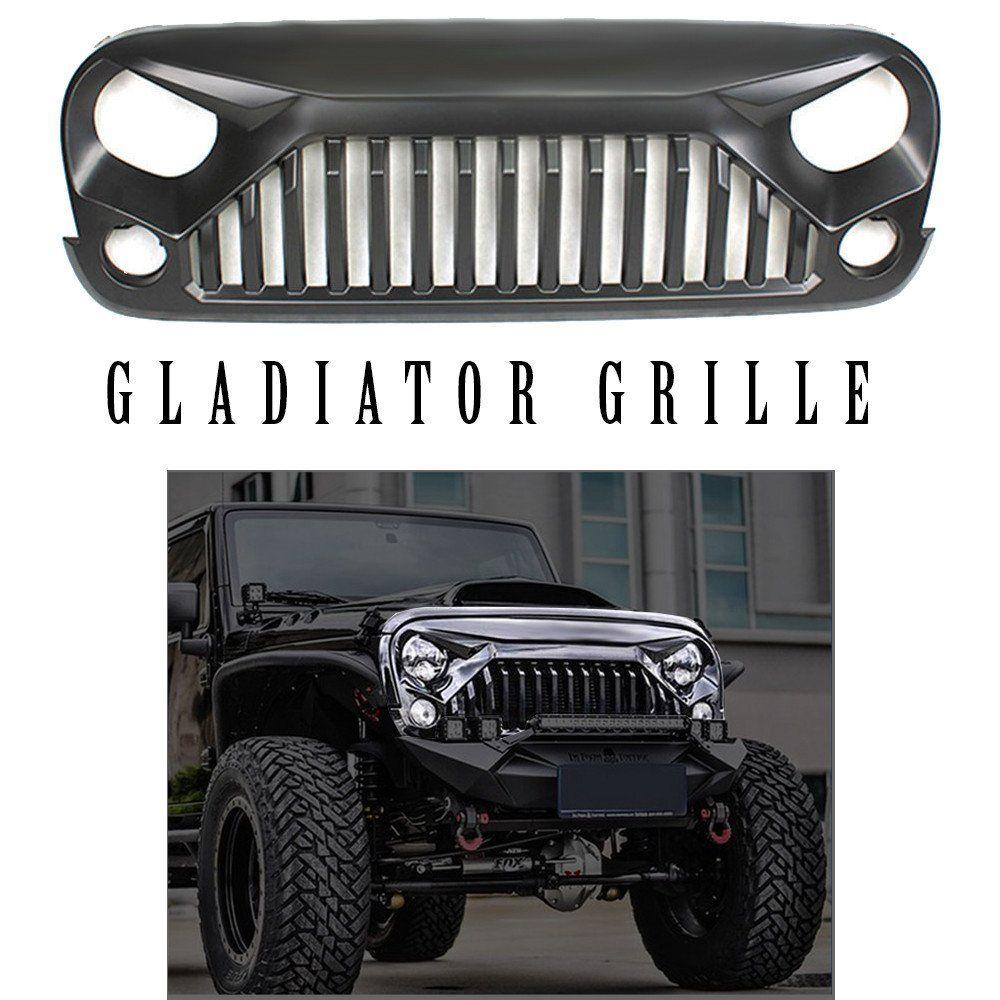 Jeep Wrangler Gladiator Grille JK (2007 2017) Pre Order