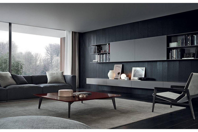 Wohnzimmer Italienisch ~ Skip bookcase by studio kairos for poliform wohnzimmer