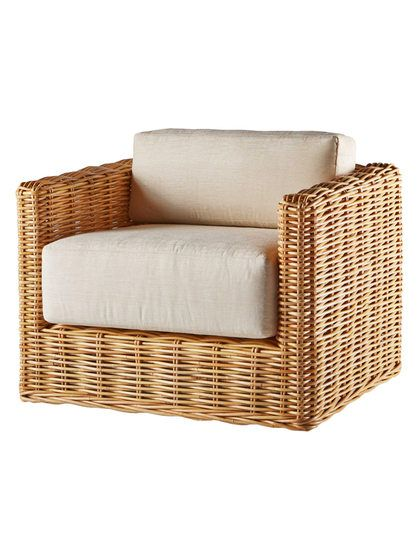Basket Lounge Chair By Sparrow Lake At Gilt Outdoor Wicker Furniture Rattan Outdoor Furniture Rattan Lounge Chair