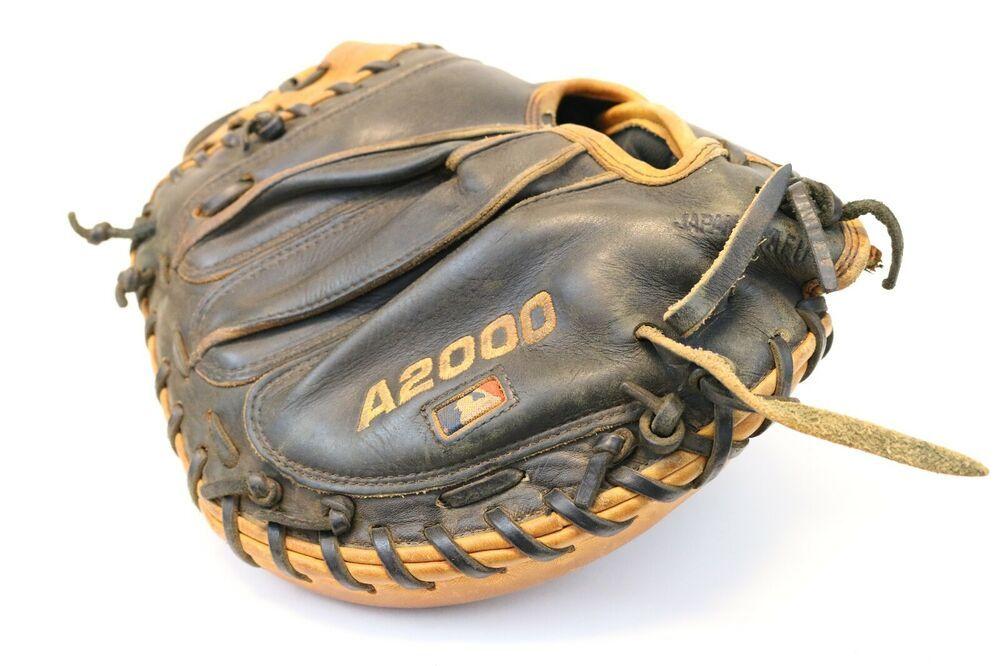 Ebay Sponsored Wilson A2000 Catchers Mitt A2403 Pudge Pro