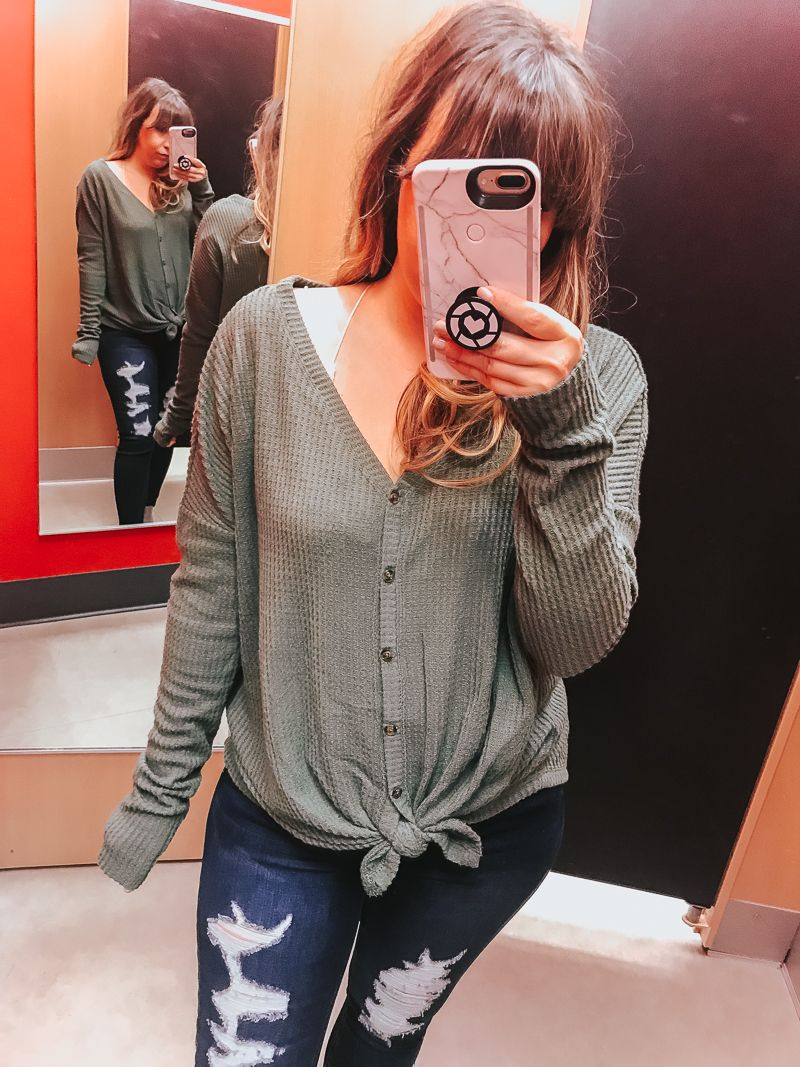 f815494f375 Target Try-On Session  Trying on the cutest Target fashion finds of  November 2018. Offering sizing and styling tips on cute Target outfits for  fall. fall ...