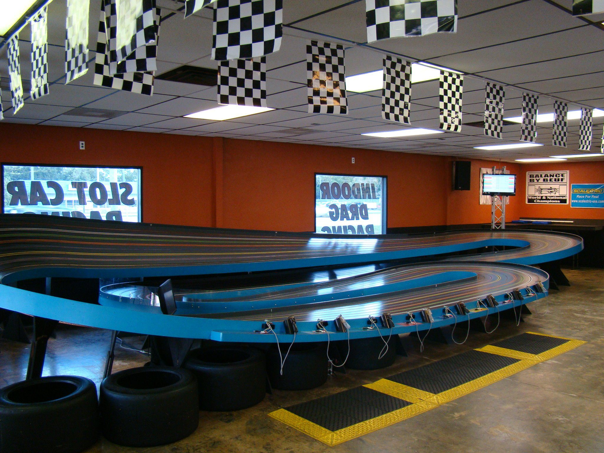 Asr Indoormotorsports Florida S Largest Slot Car Racing Facility Inside Asr Ims