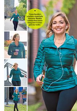 walking xoxo  prevention magazine athletic jacket laurens