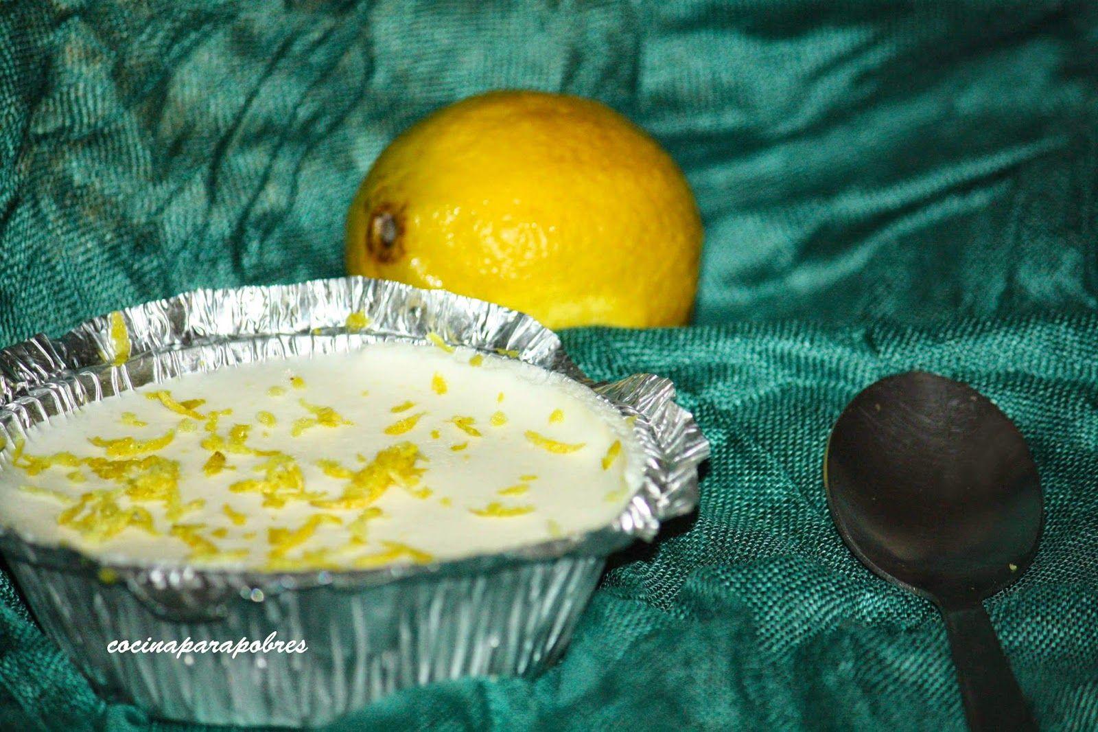 Cocina para pobres: Mousse de Limón light