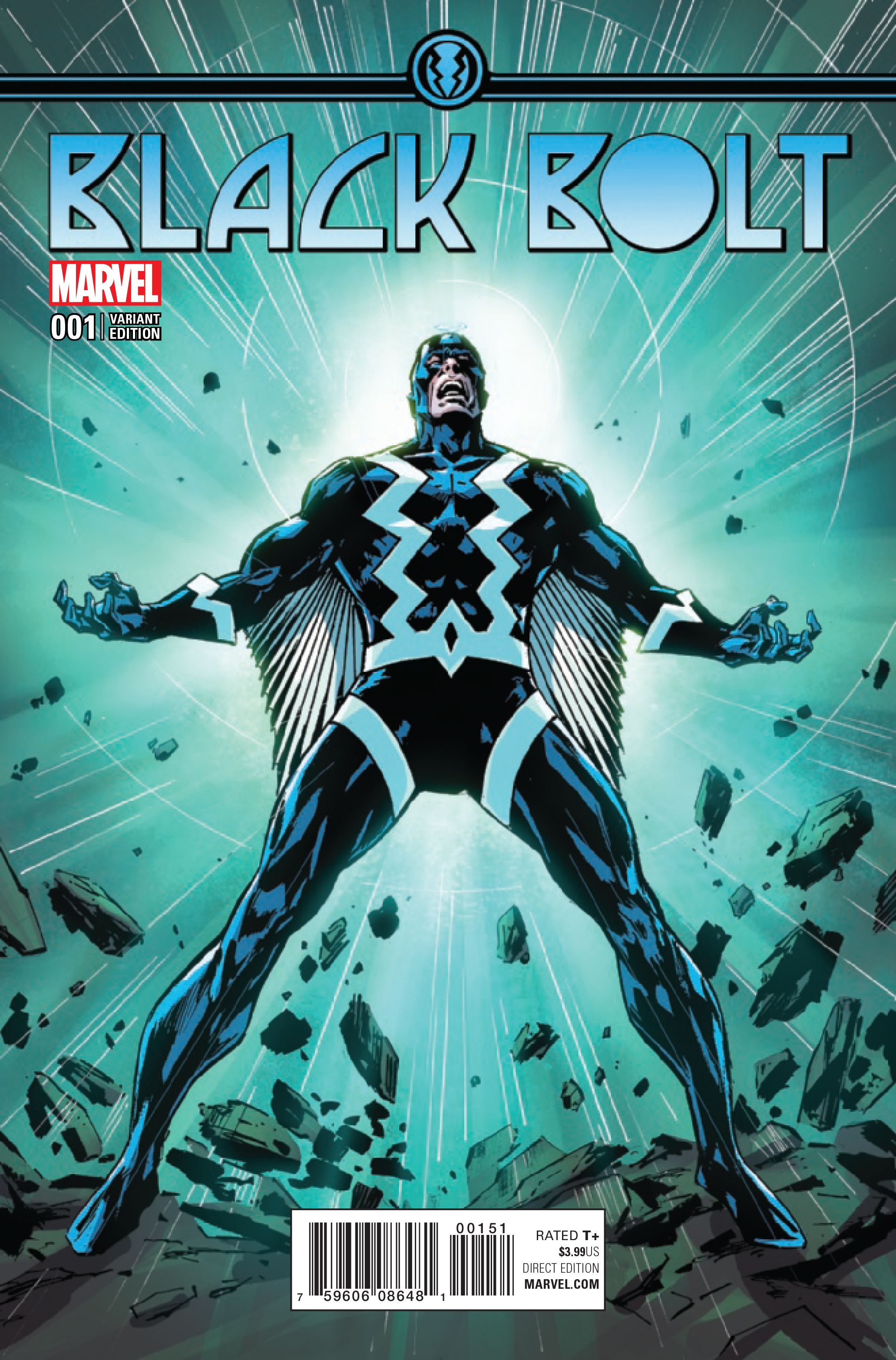 Black Bolt #1 (2017) Variant Cover by Butch Guice   Inhumans ...