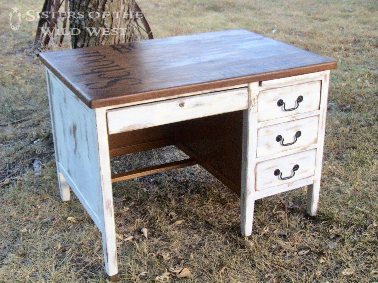 Vieux bureau en bois relooker vieux bureau bois comment relooker