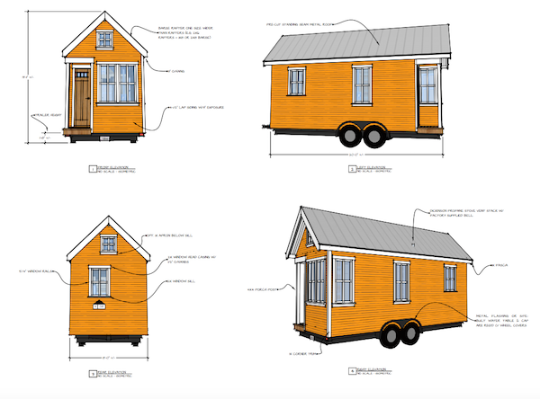 11 Delightful And Free Tiny House Plans To Download Tiny