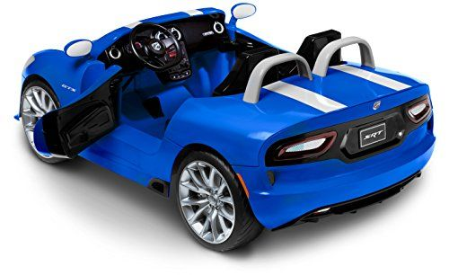 Kid Trax Dodge Viper Srt 12v Ride On Http Www Bestdealstoys Com