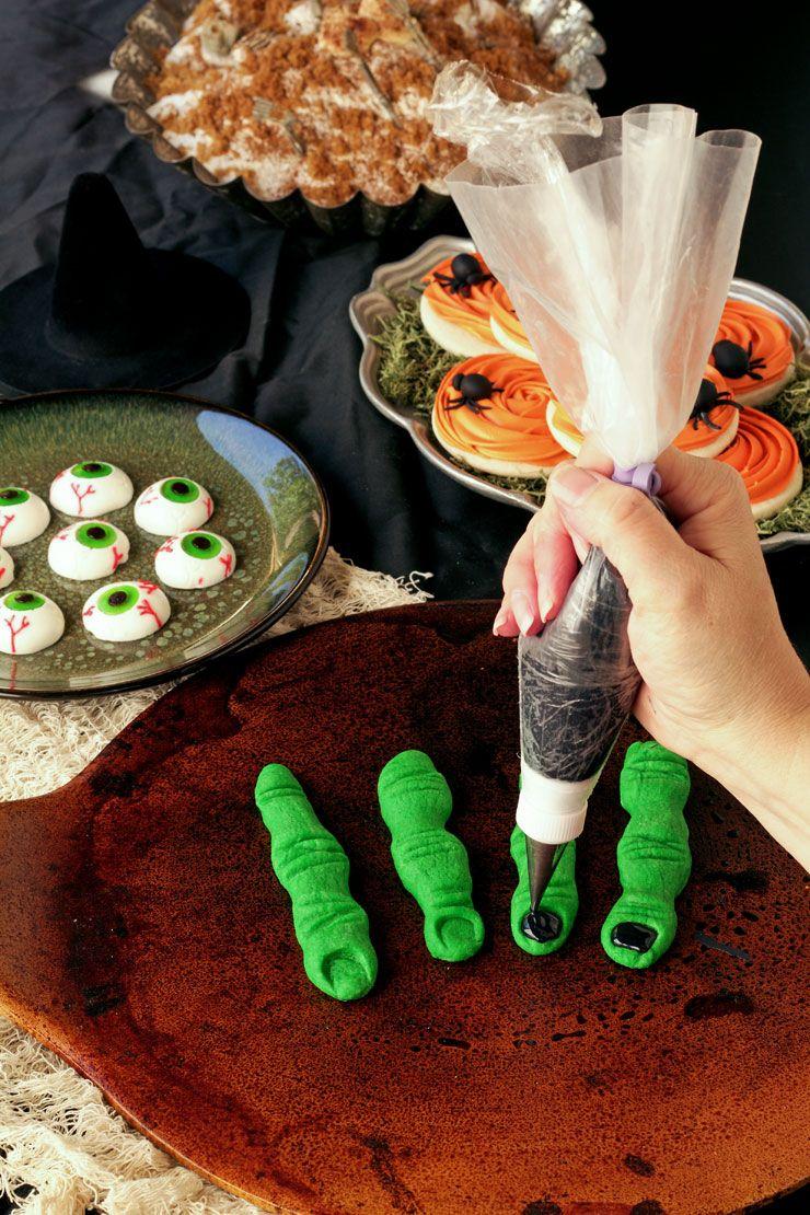 Halloween Finger Cookies Frightening Halloween Finger Cookies | The Bearfoot Baker