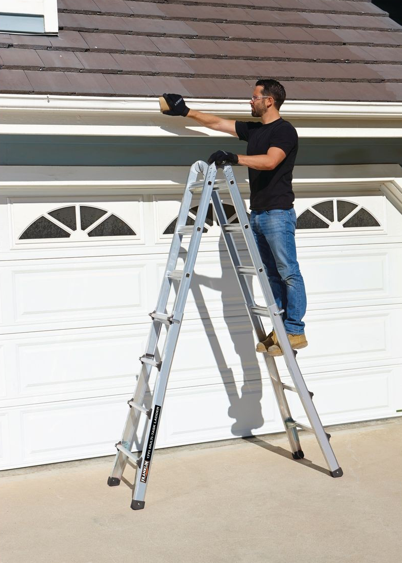 Buy The Franklin 17 Ft Multi Task Ladder For 109 99 Ladder Harbor Freight Tools Multi Tasking