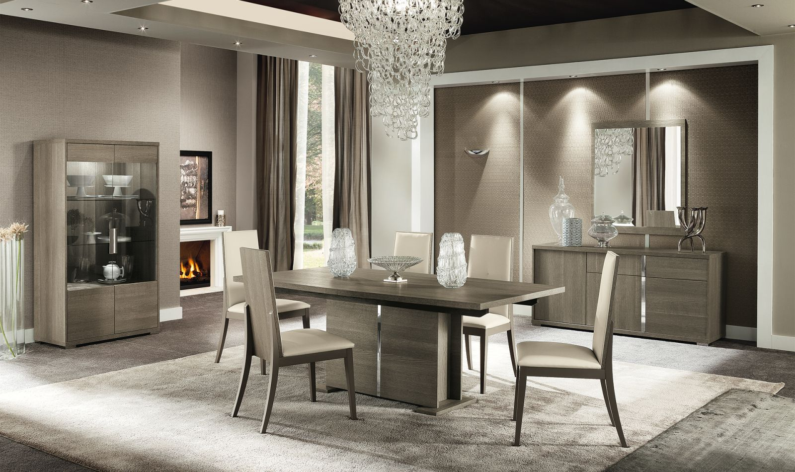 Contemporary Italian Dining Room Furniture Simple Taranto Dining Set Dining Room  Pinterest  Dining Sets And Room Inspiration Design