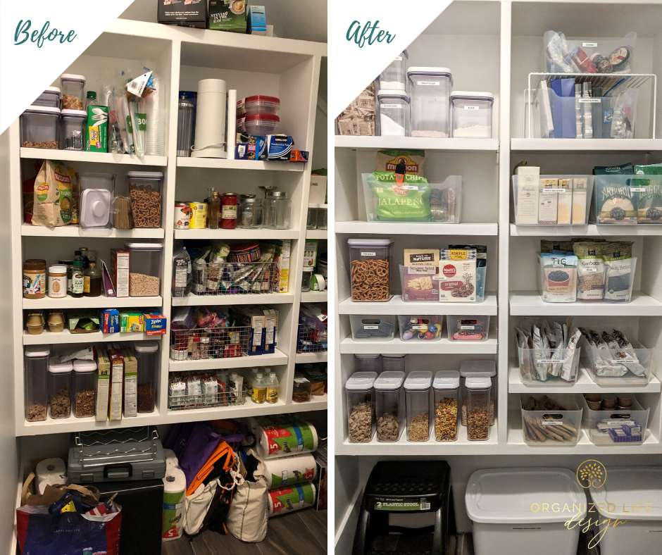 pantry organization before after in 2020 pantry organization organization inspiration on kitchen organization before and after id=48212