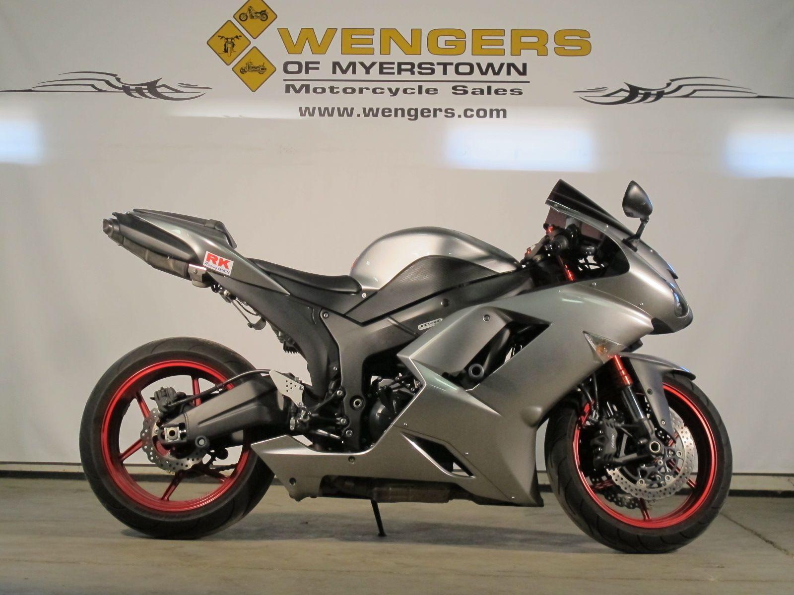 Wengers Of Myerstown >> 2007 Kawasaki Ninja ZX6R for sale at Wengers of Myerstown. Only $6995 | Bikes for Sale | Tractor ...