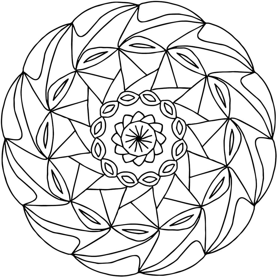 pinwheel a free printable coloring page one of 100 https