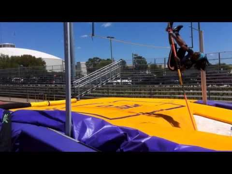 Pole Vault For Beginners Youtube Pole Vault Vaulting Track And Field
