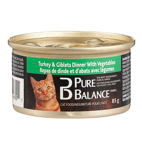 Pure Balance Turkey Giblets With Vegetables Wet Cat Food