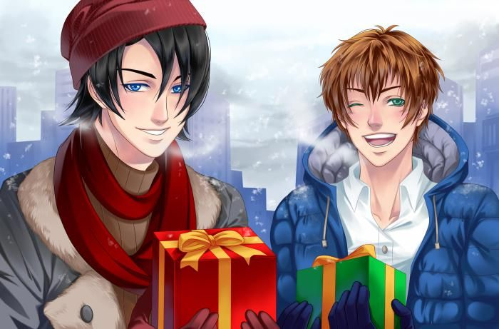 Christmas 2016 Kentin Y Armin Amour Sucre Illustration Armin
