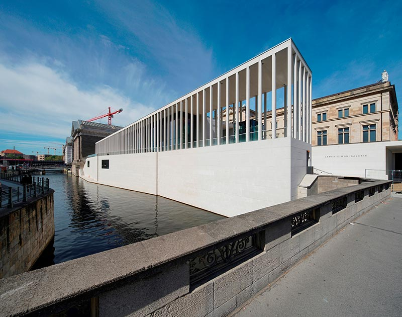 David Chipperfield Architects James Simon Galerie Hochbau Bode Museum Museum Insel