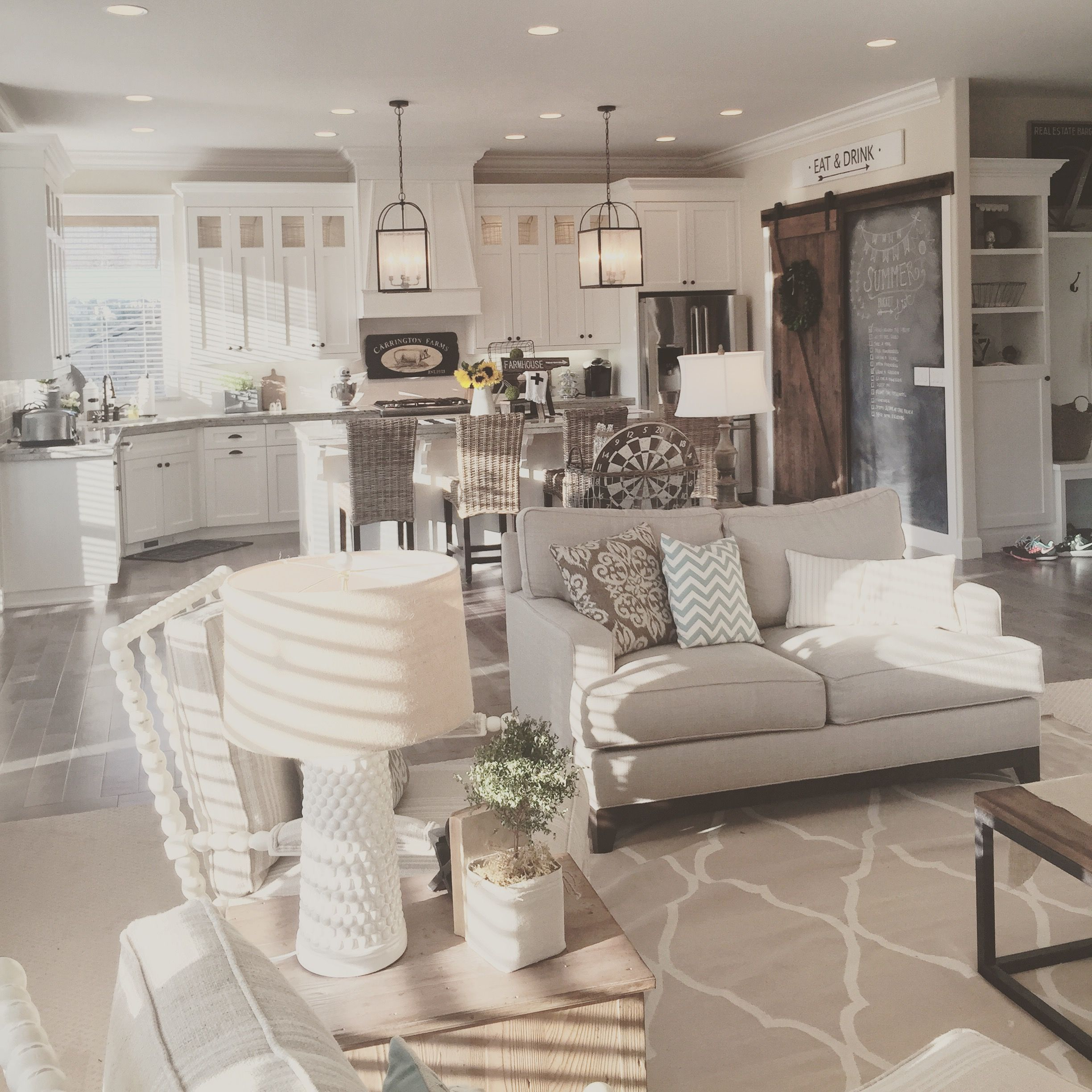 Turning A Newly Constructed Home Into A Modern Farmhouse