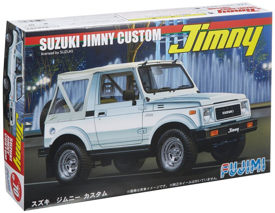 Fujimi ID70 1/24 Suzuki JIMNY CUSTOM Limited Ver. from