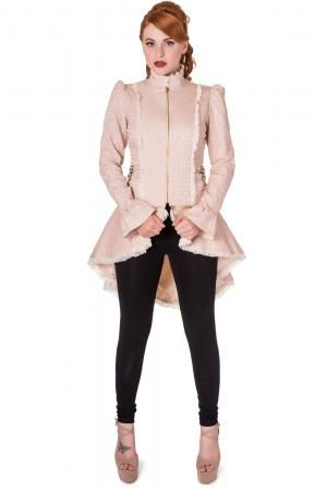rise of dawn jacket  lace corset high collar cardigans