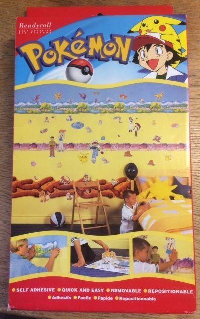 Best Pokemon Bedroom Self Adhesive Borders Stickers Create A 400 x 300