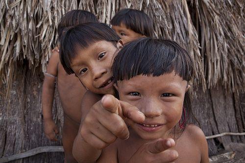 Amazon Rainforest People