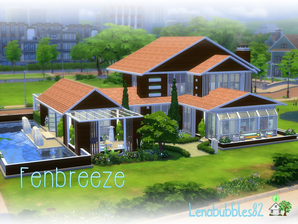New Improved Fenbreeze In Gallery Id Lenasimshomes Big Swimming Pools Storey Homes Perfect Patio