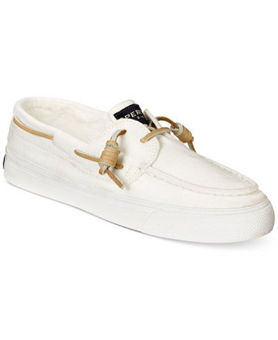 Sperry Women's Bahama Canvas Boat Shoes