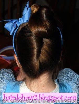 Hairdo How To Lesson 63 Disney S Cinderella Hairstyle Cinderella Hair Hairdo Kids Hairstyles