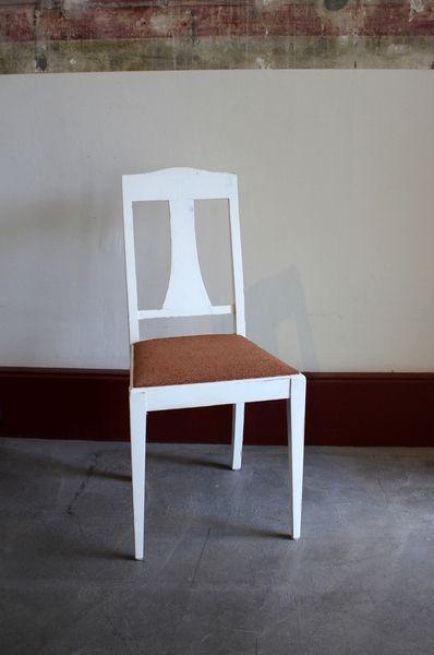 Schwedischer 20er Jahre Stuhl Küchenstuhl von Stattfein auf - küchenstuhl weiß holz