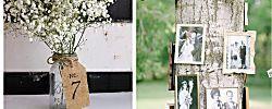 Decoración vintage para bodas con encanto