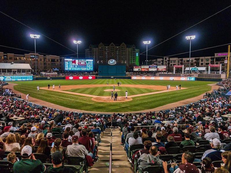 Best Minor League Baseball Ballparks Minor League Baseball Baseball Ballparks