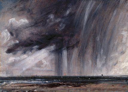 Rainstorm over the Sea, John Constable, R.A.