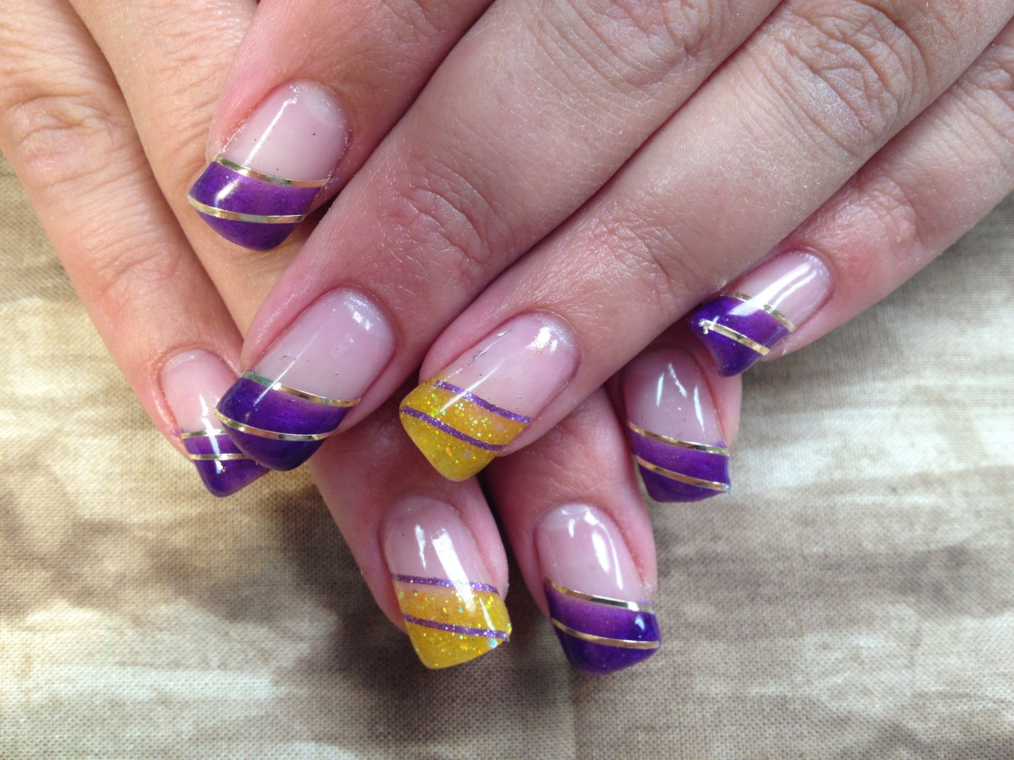 Minnesota Vikings - wish I had fingernails! Vikings fans: check out ...