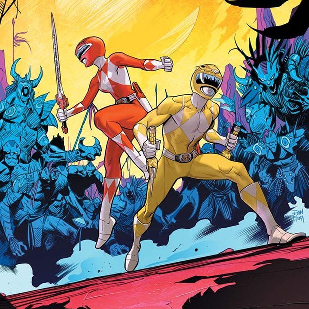 Dan Mora Chaves On Instagram Gogopowerrangers Issue 14 16 Go Go Power Rangers Power Rangers Concept Art Characters