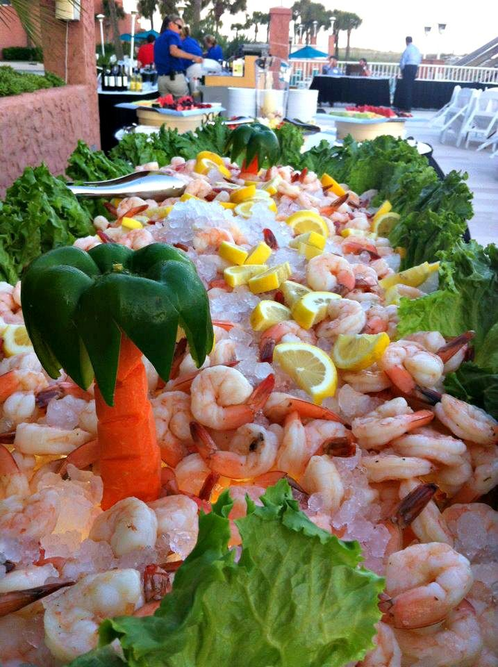 Luscious Looking Buffet At The Perdido Beach Resort In Orange