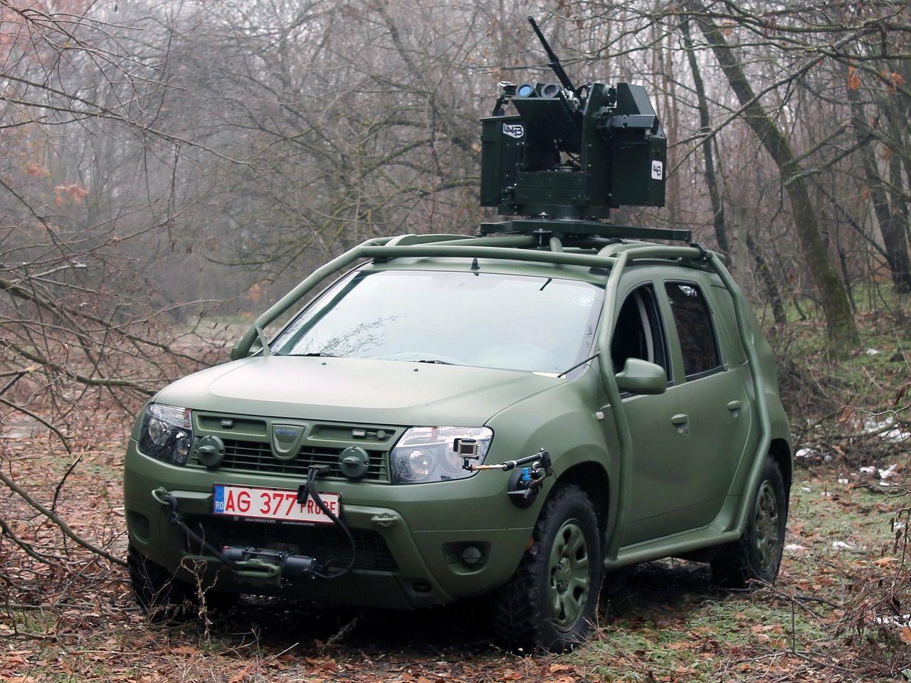 2013 Dacia Duster Army Concept