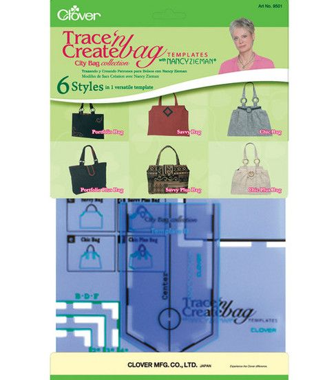 Trace N Create Bag Templates City Bag Collection 6 Styles At Joann Com How To Make Purses Knitting Kits City Bag