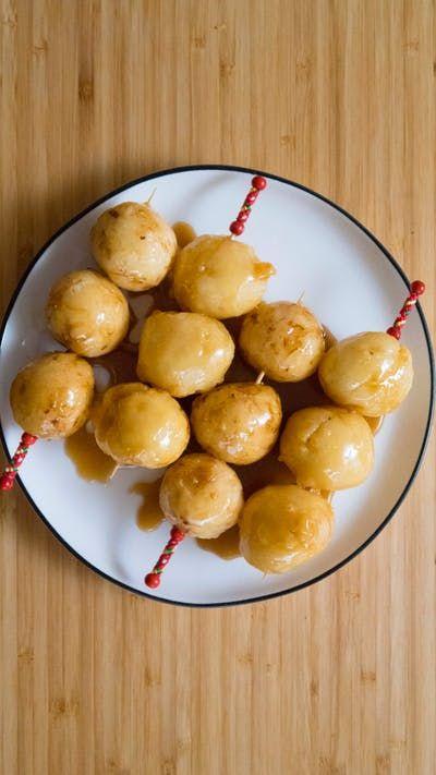 Filipino Carioca (Fried Sweet Rice Balls)   Recipe   Sweet ...