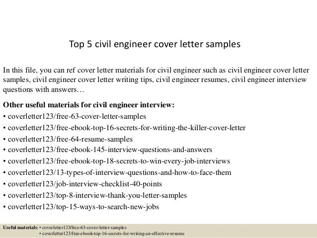 civil engineer cover letter samplesin this file you can ref - engineer cover letter