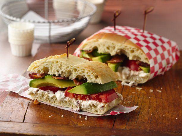 Bacon, Tomato & Avocado Sandwich w/ Chipotle Aioli