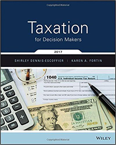 test bank and solution manual for taxation for decision makers 2017 rh pinterest com Executive Decision Maker Business Decision Maker